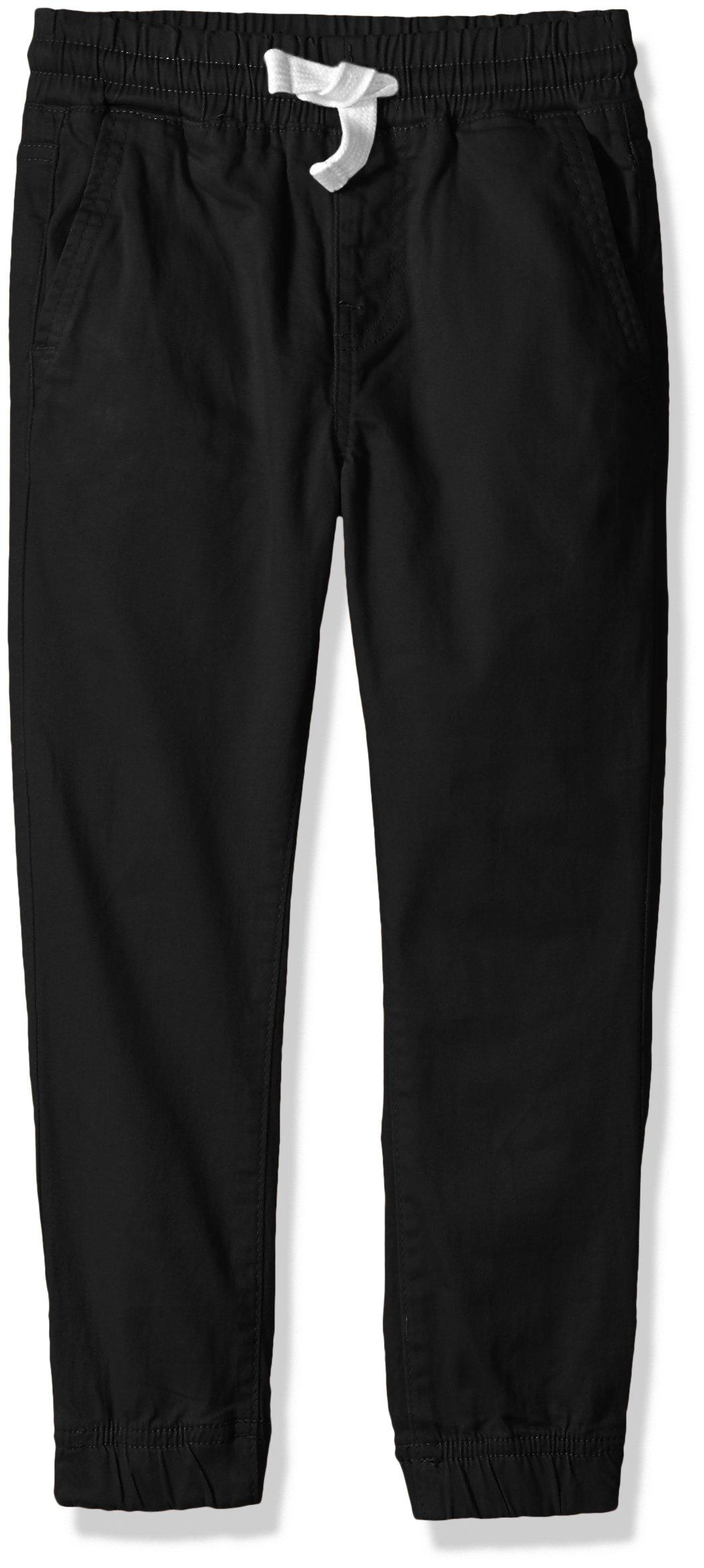 Lucky Brand Big Boys' Jogger Pant, Black, Medium (10/12)