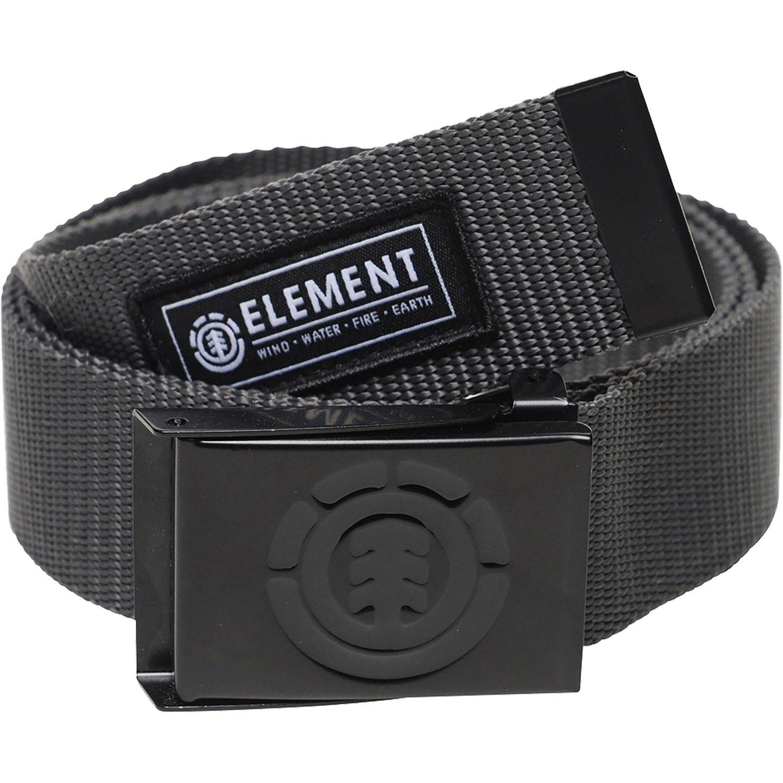 Element Skateboards Beyond Charcoal Web Belt - Adjustable