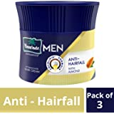 Parachute Advansed Men Hair Cream, Anti-Hairfall, 100 gm (Pack of 3)