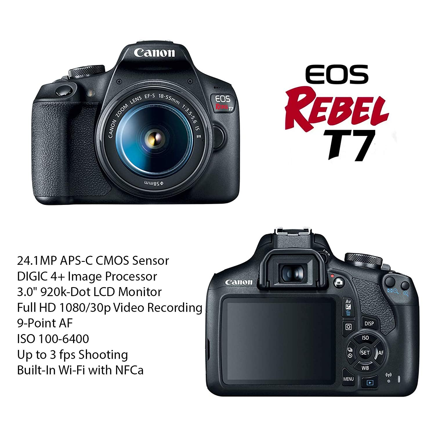 Canon EOS Rebel T7 Review