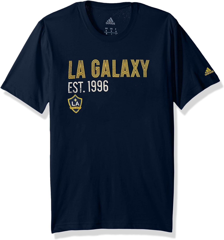 adidas Camiseta de algodón Tri-Line Premium para Hombre, Azul Marino Universitario, XXL: Amazon.es: Deportes y aire libre