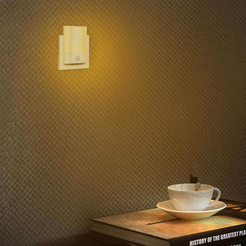 K/üche Wohnzimmer usw Schlafzimmer Badezimmer Brisun Nachtlicht Steckdose mit Bewegungsmelder 2 St/ück Helligkeit Einstellbar Nachtlicht mit 3 Modi Auto//ON//OFF f/ür Kinderzimmer Flur Treppen