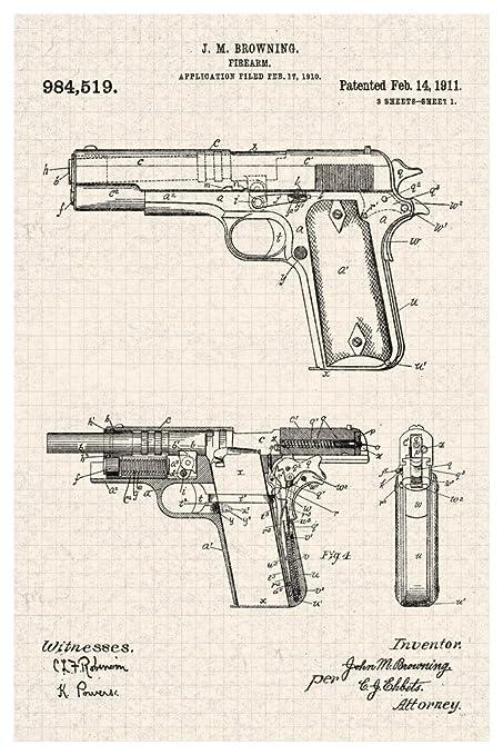Diagram Of Revolver - Schematics Online on