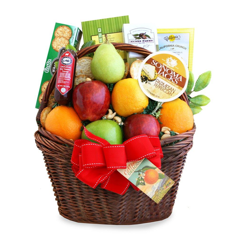 California Delicious Bountiful Fruit Gift Basket