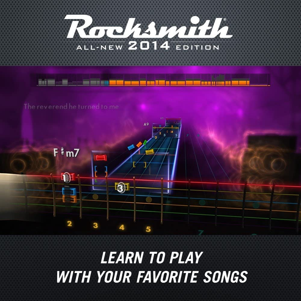 Amazon com: Rocksmith 2014 Edition - PC/Mac (Cable Included): Video