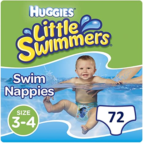 Huggies LittlHuggies Swimming Nappies Little Swimmers Pants Disney Holiday Pool