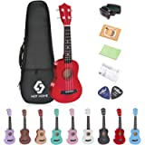 NOT HOME® 21' Soprano Ukulele with a Carrying Bag and a Digital Tuner, Specially Designed for Kids, Students and…