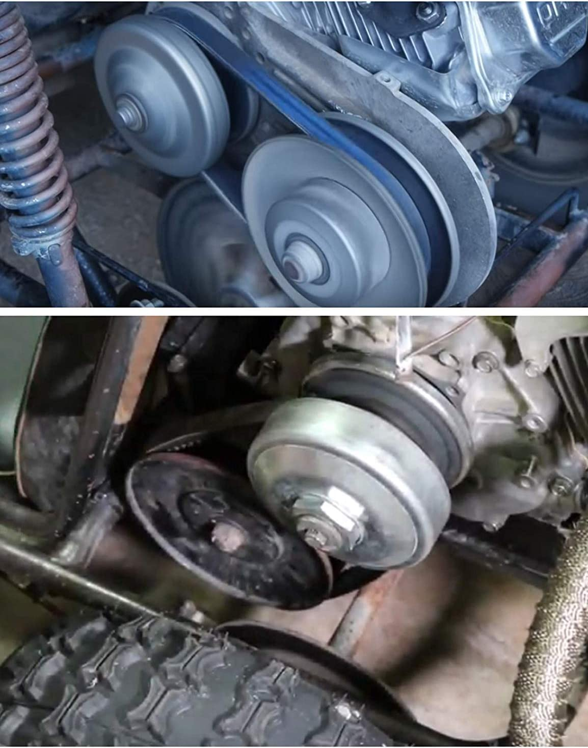 BLACKHORSE-RACING 40 Series 1 Bore Go Kart CVT Torque Converter Driver Clutch Fit for Comet 40//44