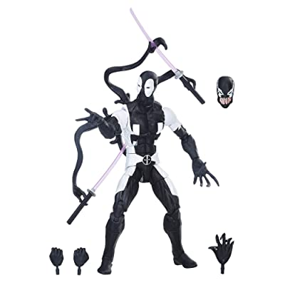 Marvel Legends Series Back in Black 6-inch Deadpool: Hasbro: Toys & Games