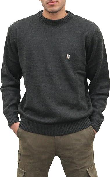 new style 0b4b2 05183 German Wear Lana Vergine Caccia Pullover per Caccia ...