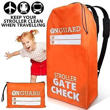 Amazon.com: OnGuard – Bolsa doble para cochecito con bolsa ...