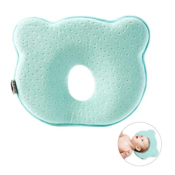 Pillow Soft Infant Baby Prevent Flat Head Memory Foam Chic Cushion Sleeping