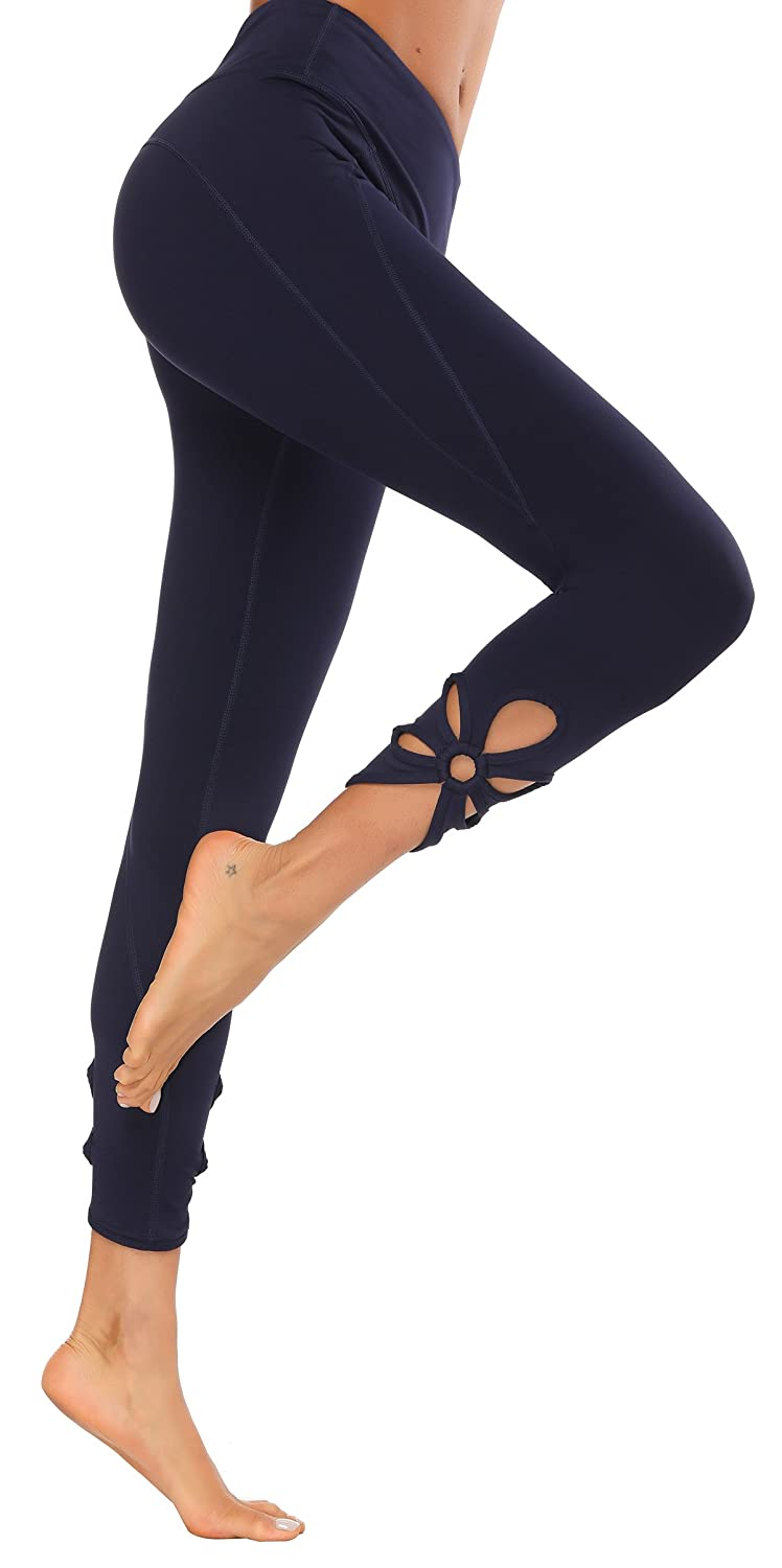 X HERR Women Gym Leggings High Waist Yoga Sports Pants Compression Workout Running Tights