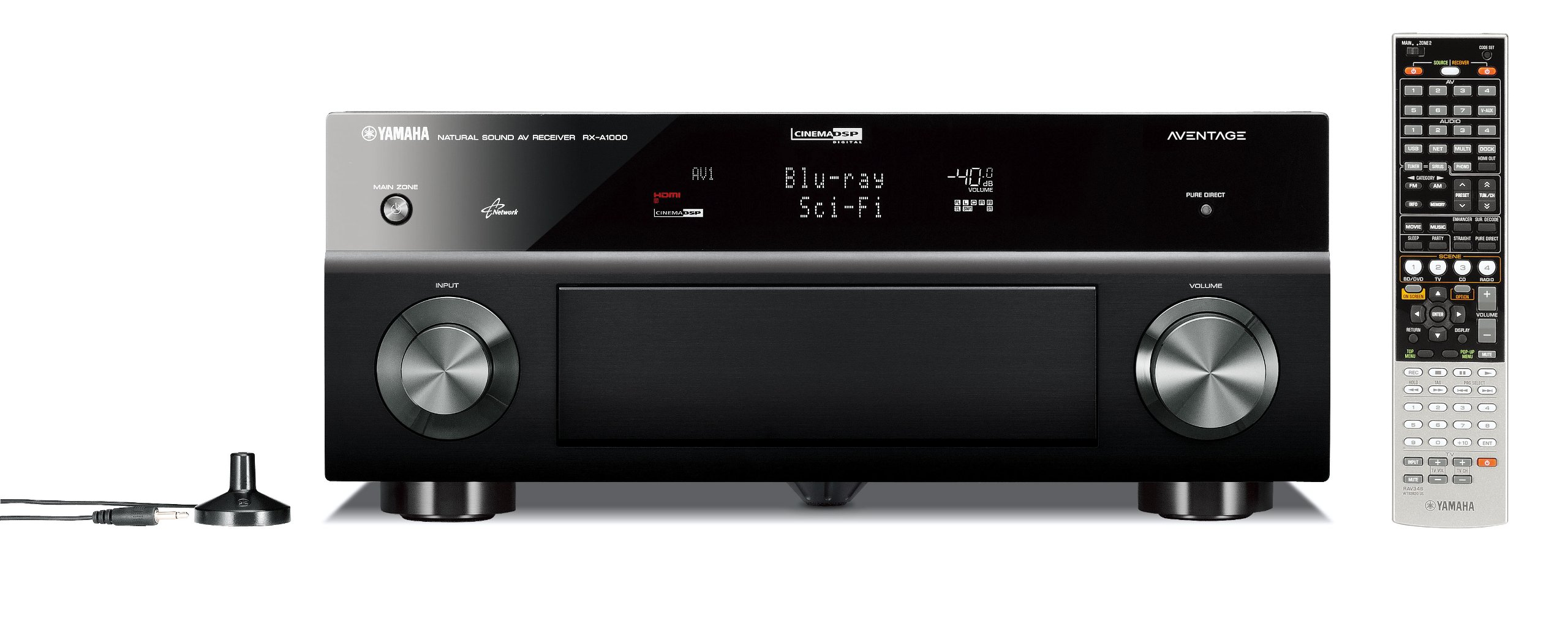 Yamaha RX-A1000 7.1-Channel Home Theater Receiver (OLD VERSION) (Discontinued by Manufacturer) by Yamaha (Image #1)