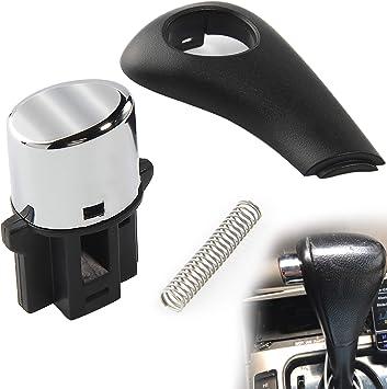 54132-SDA-A81 Shifter Shift Button Knob Repair Kit and 54141-SDA-A81 Shift Knob Side Plate For 2003-2006 Honda Accord
