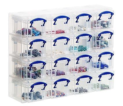 Really Useful - Organizador para cajas (incluye 16 cajas de 0,14 l ...