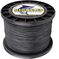 Hercules Cost-Effective Super Cast 8 Strands Braided Fishing Line 10LB to 300LB Test for Salt-Water, 1094 Yards 1000M, Diam.#0.12MM-1.2MM, Hi-Grade Performance, Variety Colors