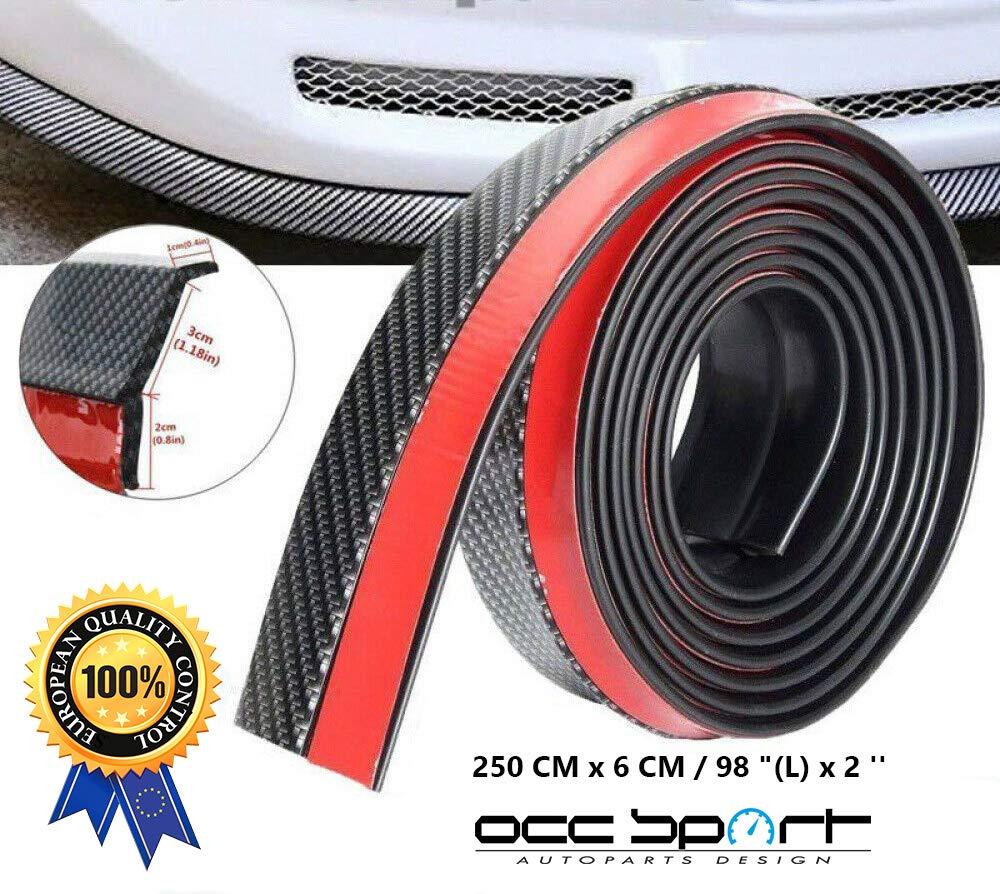 Occ Motorsport OCCDEC001 in Fibra di Carbonio Protezione paraurti Universale 2,5 m