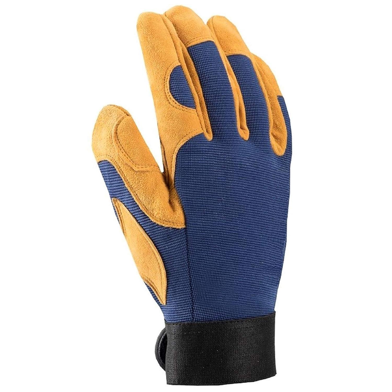 hobby jardiner/ía las tareas dom/ésticas embalaje 1 Par, 6 PREMIUM guantes de trabajo de lujo guantes de motocicleta montaje el transporte para la mec/ánica almac/én