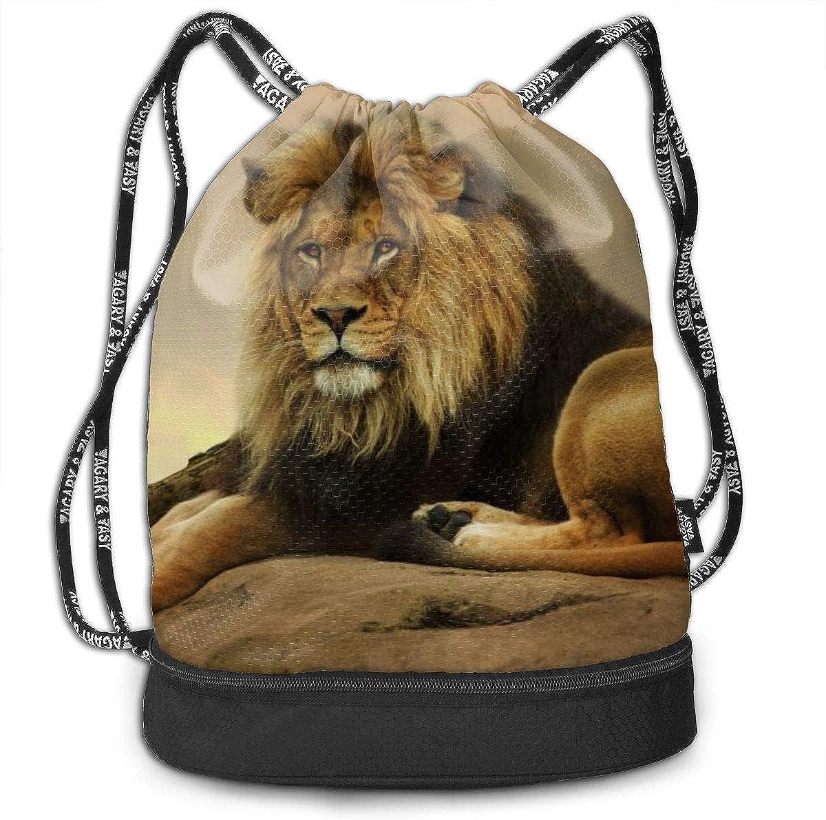 Gym Yoga Runner Sports Daypack Portable Bundle Backpack Amazing Space Funny Logo Drawstring Bag For Girls /& Boys