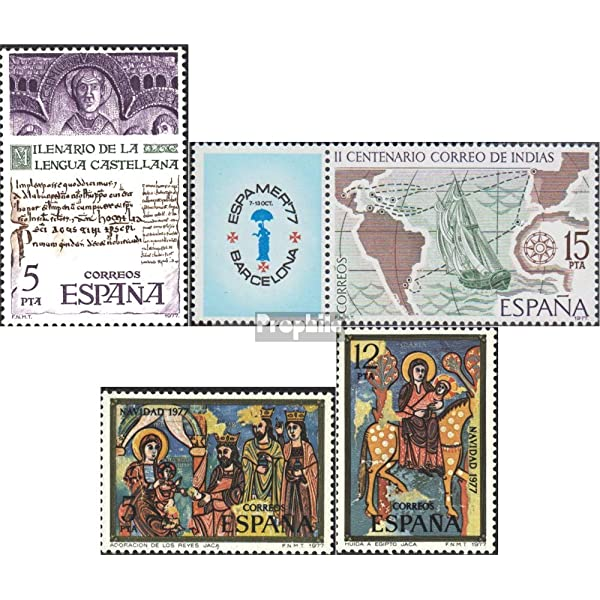 Prophila Collection España Michel.-No..: 2321,2330Zf,2338-2339 ...