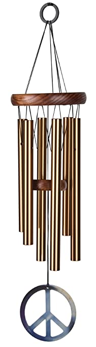 Woodstock Bronze Peace Chime- Dcor Designs Collection