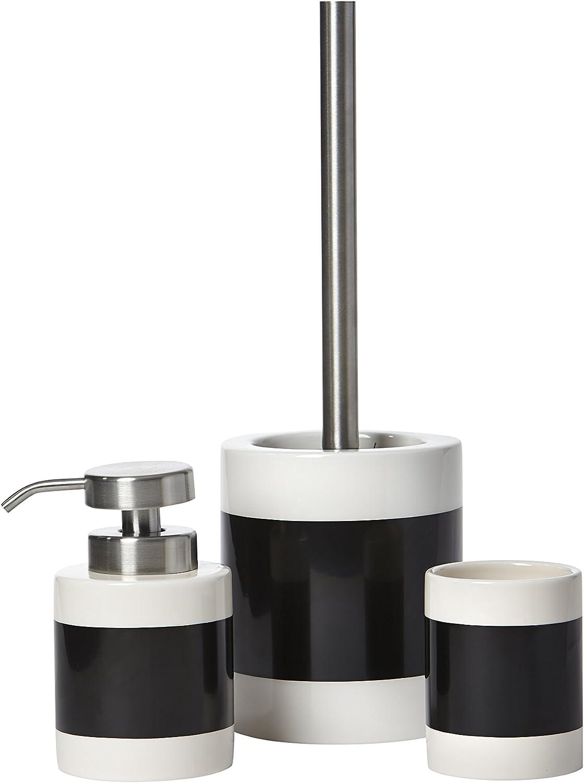 Colour Box Design Set Of 3 Bathroom Accessories Set Amazon Co Uk Kitchen Home