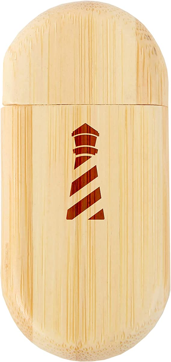 Front Airplane 8Gb Bamboo Usb Flash Drive With Rounded Corners 8Gb Usb Gift For All Occasions Wood Flash Drive With Laser Engraving