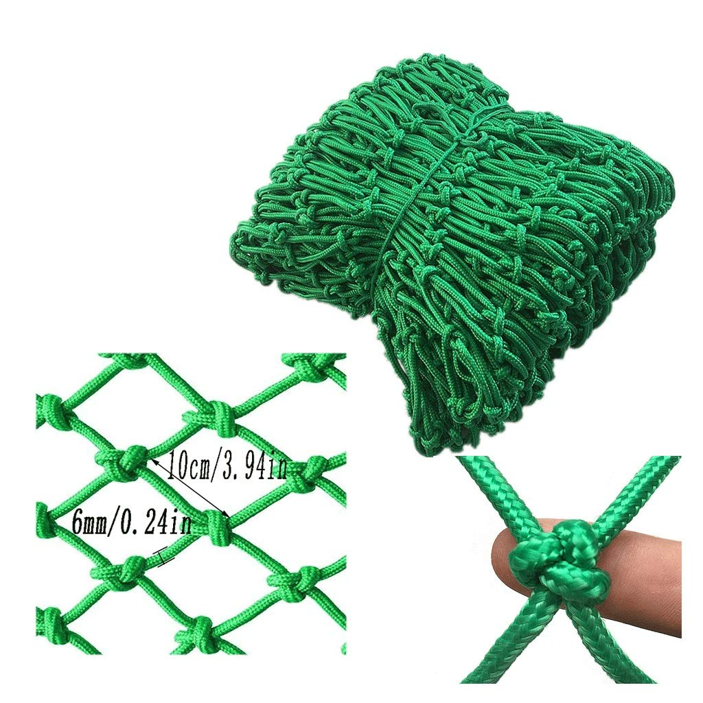 Balcony Anti-Fall Net Decoration Net Cat Net Children's Stairs Protective Net Safety Net Fence Net Kindergarten Playground Stadium Fence Multi-Size Optional (Size : 3x3m)