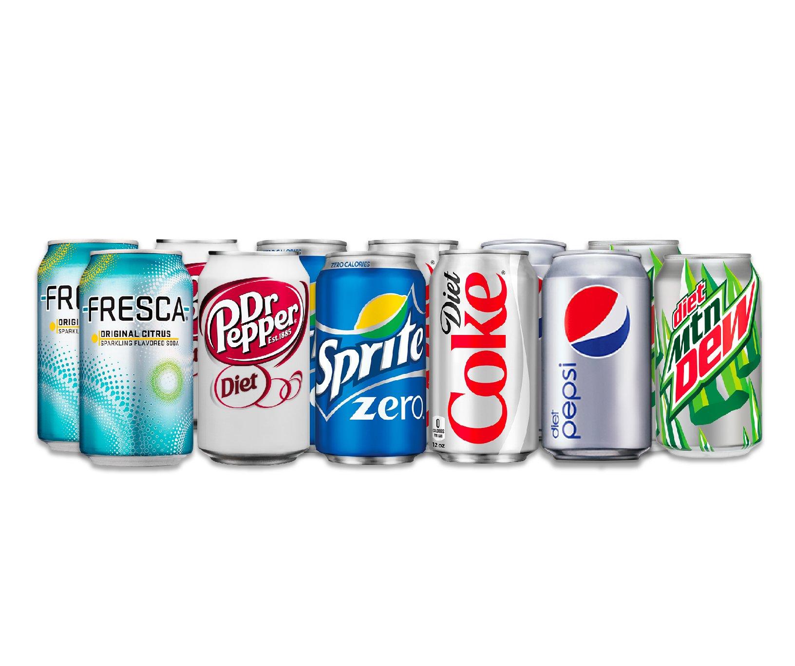 Amazon.com : 12 Can Soda Variety Pack - Assortment of Coke, Pepsi ...