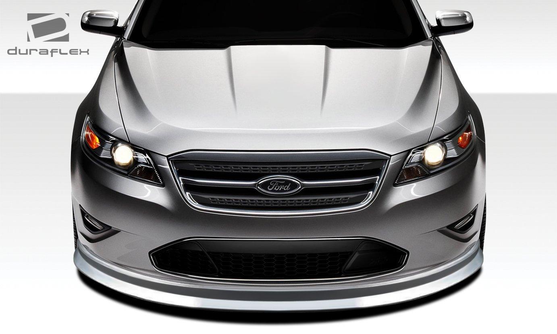 Amazon com 2010 2012 ford taurus duraflex racer front lip under spoiler air dam 1 piece automotive