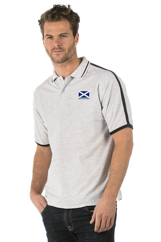 Bruntwood Escocia Bandera Club Polo Camisa - Scotland Flag Premium ...