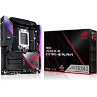 ASUS ROG Zenith II Extreme Alpha TRX40 Gaming AMD 3rd Gen Ryzen Threadripper sTRX4 EATX Motherboard with 16 Infineon…