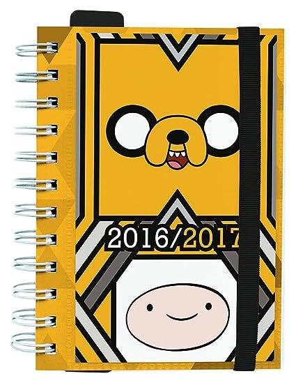 Grupo Erik Editores Adventure Time - Agenda escolar dp 2016/2017, 11.4 x 16.5 cm