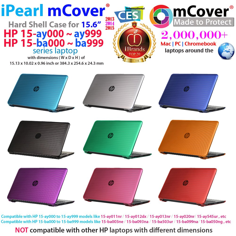 Ipearl Mcover Hard Shell Case For 15 6 Hp 15 Ayxxx 15 Ay000 To 15 Ay099 Series Not Fitting 15 Hp Pavilion Or Envy Laptops Notebook Pc