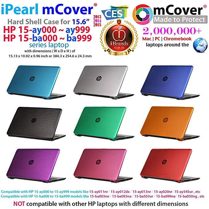 Amazon.com: iPearl mCover Hard Shell Case for 15.6
