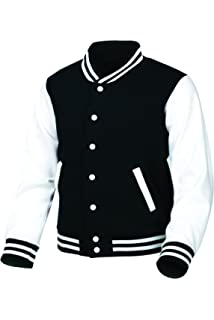 8de546d677 myglory77mall Men s Cotton Baseball Varsity College Letterman Raglan Jacket
