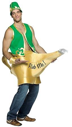 Amazon.com: Disfraz de Genie in the Lamp para hombre: Clothing