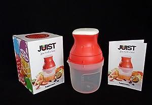Tupperware Just Polypropylene Hand Juicer(Red Pack Of 1)