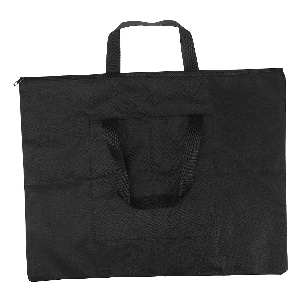 Healifty Portafolio impermeabile espesado A2/per disegno cartella di disegno nero