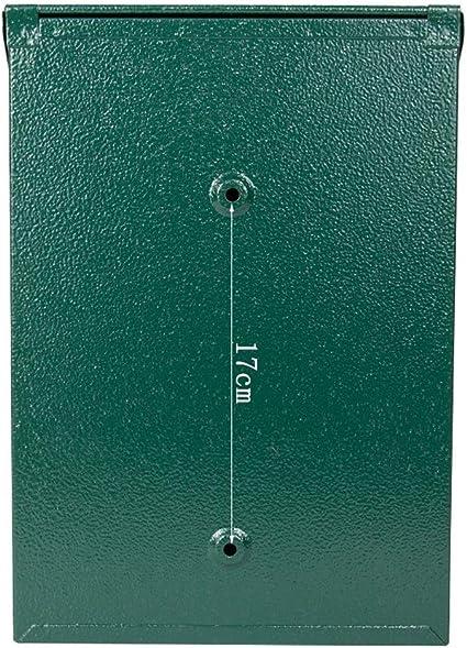 YONG FEI Buzón, caja de sugerencias for colgar en la pared de la puerta exterior simple de estilo europeo. Buzón de ...