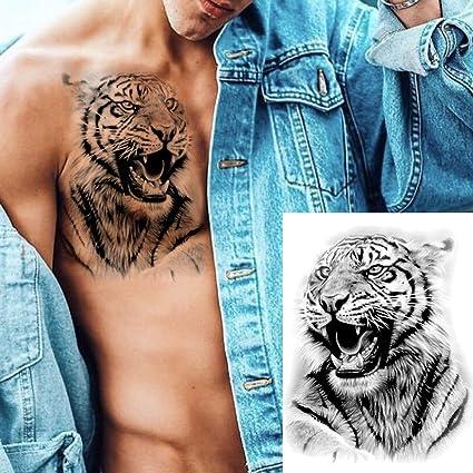 LAROI 8 Hojas 3D Realista Full Brazo Tatuajes Temporales Adultos ...