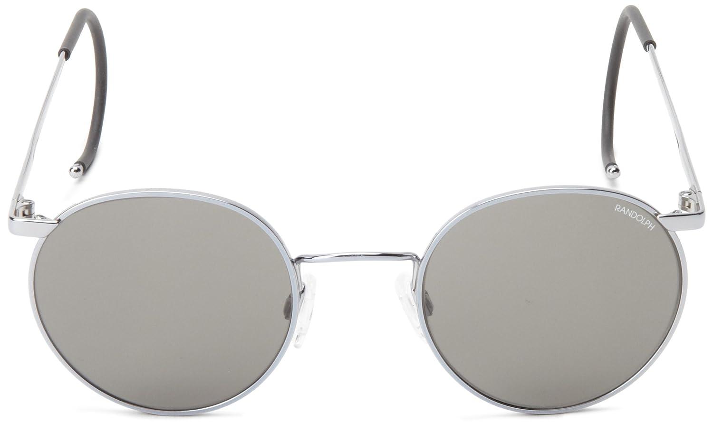 Amazon.com: Randolph P-3 anteojos de sol, Plateado, 49 mm ...