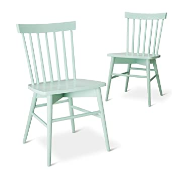 Bon Windsor Dining Chair (Set Of 2)   Threshold (Mint)