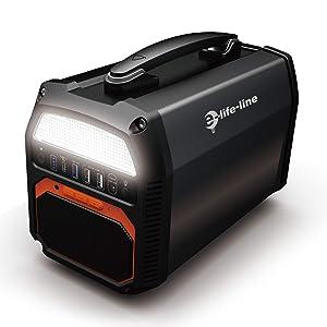 e-life-line ポタデン 462Wh AC出力300W Bluetoothスピーカー
