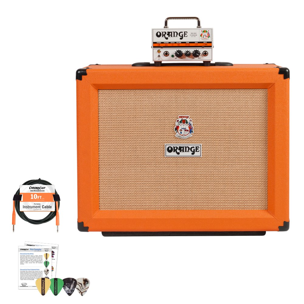 Orange Micro Terror MT20 and PPC112 Cabinet Half Stack Kit