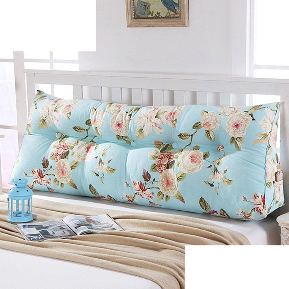 bedside back cushion/triangle sofa big backrest/soft bag tatami backrest/throw pillows on the bed/waist cushion /waist cushion-J 200x23x50cm(79x9x20inch)