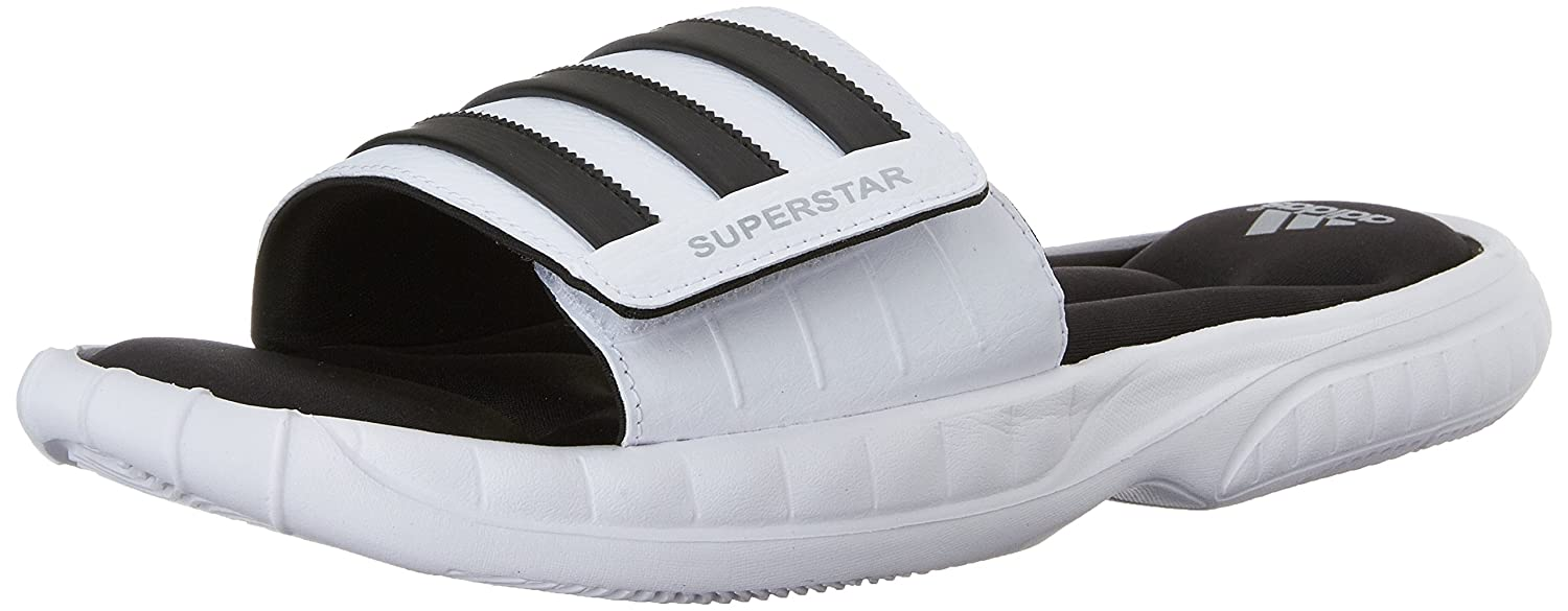 f3c19c76e094 adidas Performance Men s Superstar 3G Slide Sandal  Amazon.co.uk  Shoes    Bags