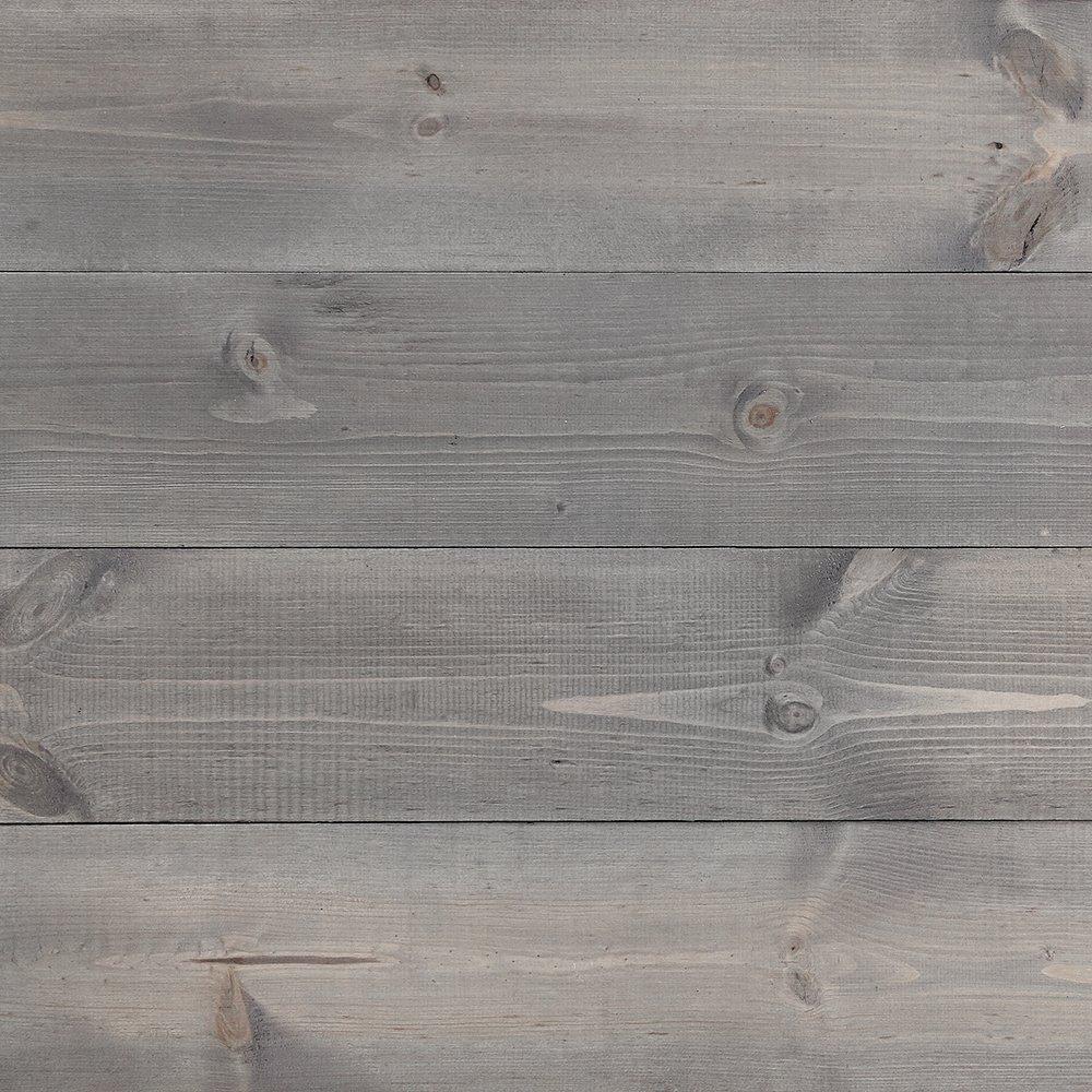 Timeline Wood Skinnies 00957 11/32 in. x 5.5 in. x 47.5 in. Wood Panels, Dry Brush (6-Pack)