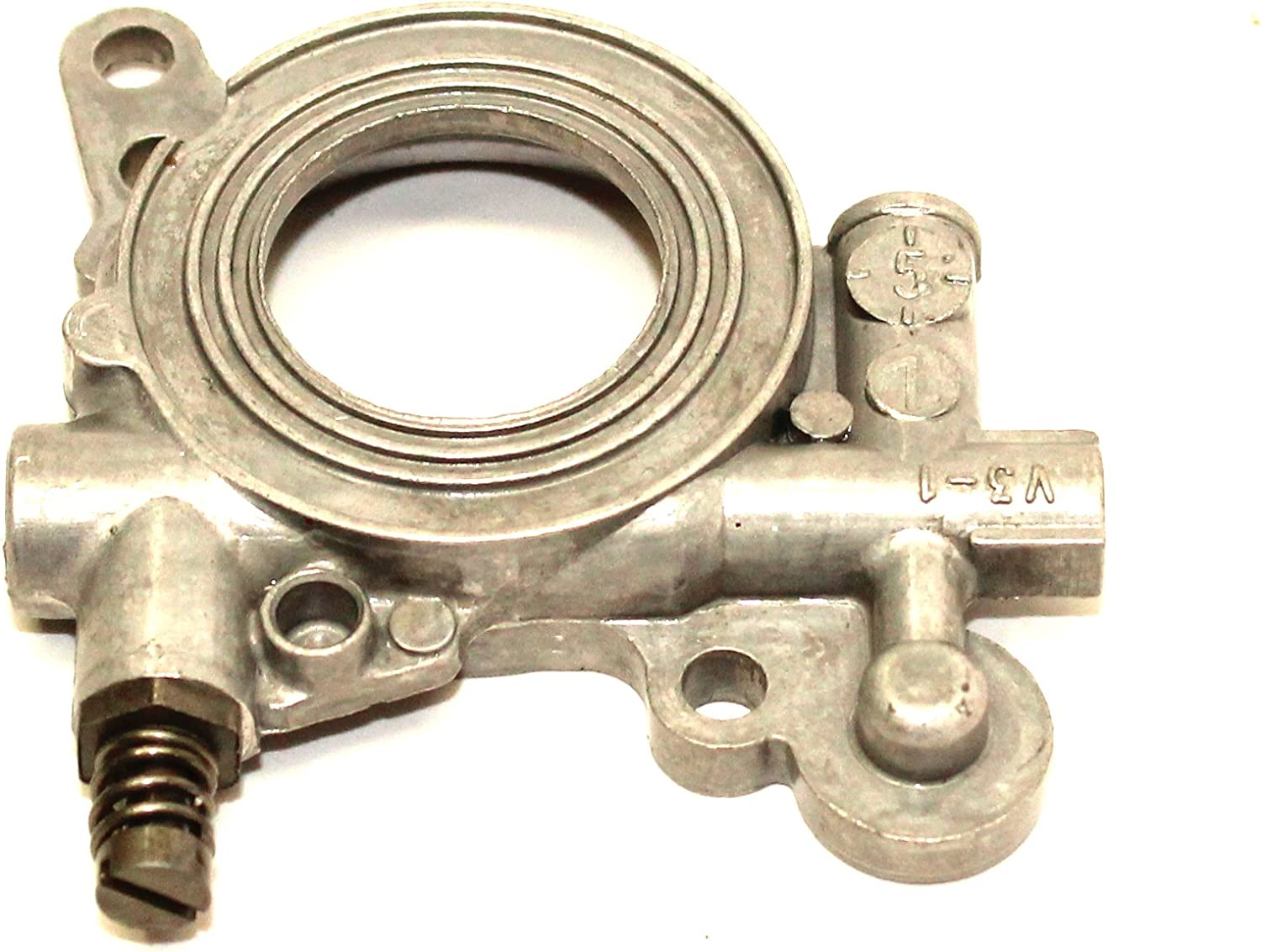 Oil Oiler Pump Fit for Husqvarna 362 365 371 372 385 390 Chainsaw 503521301